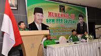Waketum DPP PPP Suharso Monoarfa. (Liputan6.com/M Taufan SP Bustan)