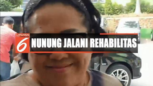 Nunung dan suaminya akan menjalani rawat inap dan rehabilitasi selama beberapa bulan ke depan untuk menghilangkan kecanduan narkoba, baik fisik dan mental.