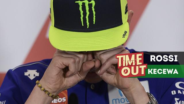 Berita video Time Out kali ini tentang Valentino Rossi yang kecewa dan menyebut Marc Marquez tidak menghormati rival di MotoGP pada seri di Argentina.