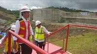 Presiden Jokowi tinjau pembangunan bendungan di Sulawesi Selatan (Foto:Liputan6.com/Maulandy R)