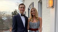 Ivanka Trump dan suami bersiap untuk acara makan malam. (dok. Instagram @ivankatrump/https://www.instagram.com/p/BuiDDJ8BKtN/Esther Novita Inochi)