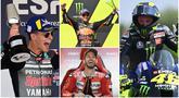 Pembalap Red Bull KTM, Brad Binder, membuat kejutan dengan menjuarai MotoGP Republik Ceska di Sirkuit Brno, Minggu (9/8/2020). Sementara juara Motogp Andalusia, Fabio Quartararo hanya mampu finis ke tujuh. Berikut klasemen semetara MotoGP 2020.
