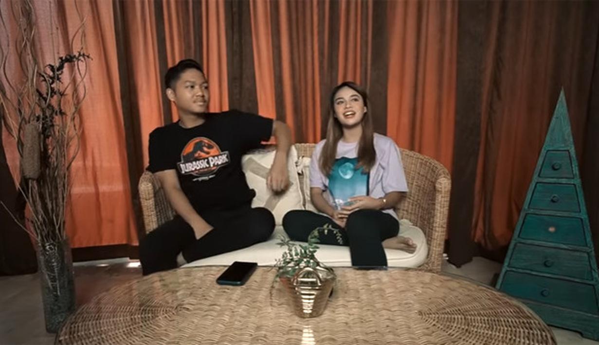 Azriel dan Aurel Hermansyah (Youtube/The Hermansyah A6)