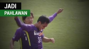 Berita video striker Thailand, Teerasil Dangda, menjadi pahlawan di Liga Jepang, J1 League.