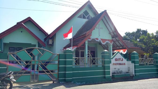 Gereja Kristen Protestan yang ada di Desa Tanjungrejo, Kudus. (Liputan6.com/Rita Ayuningtyas)