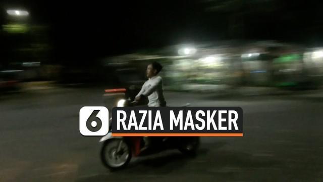 Razia masker gencar dilakukan di wilayang Serpong, Tangerang Selatan. Warga tang kedapatan tidak memakai masker langsung didenda atau dihukum membersihkan toilet.