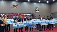 Acara final program Born to Protect di Jakarta, Jumat (5/10/2018). Liputan6.com/Agustinus Mario Damar