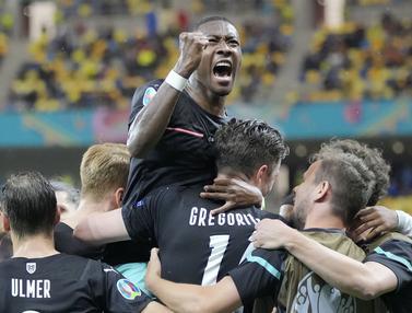 Foto Piala Eropa: Austria Menang Meyakinkan Atas Makedonia Utara di Laga Perdana Grup C Euro 2020