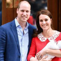 Kelahiran anak ketiga Kate Middleton dan Pangeran William. (People)