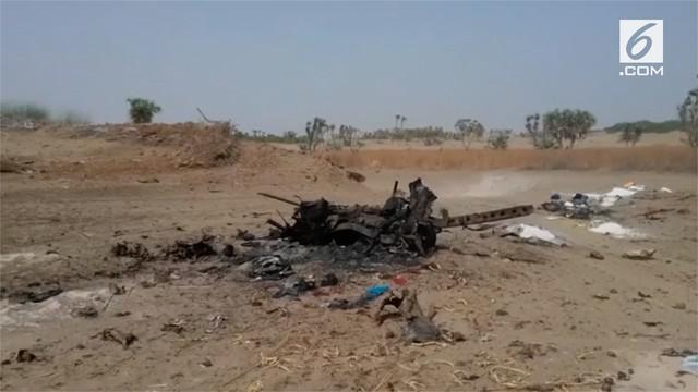 Koalisi Arab Saudi kembali lancarkan serangan udara ke Yaman dan menewaskan 30 orang.