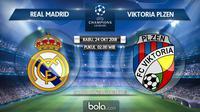 Liga Champions 2018 Real Madrid Vs Viktoria Plzen (Bola.com/Adreanus Titus)