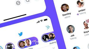 Twitter Spaces. Dok: Twitter/@TwitterSpaces