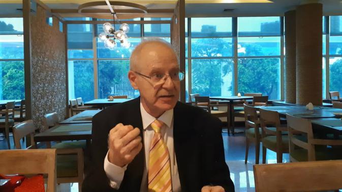 Duta Besar Bahrain untuk Indonesia Mohamed Ghassan Shaikho (Rizki Akbar Hasan / Liputan6.com)