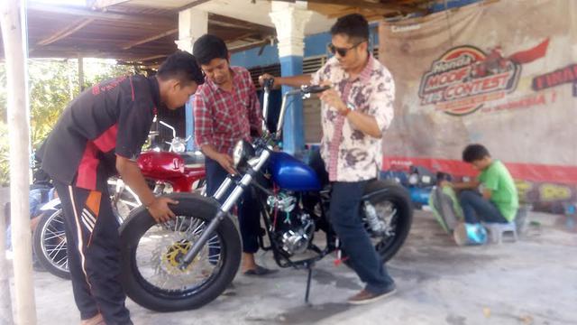 Gambar Modifikasi Sepeda Motor Jadul Rangkul Anak Muda Nganggur Lewat Modifikasi Motor Jadul Regional