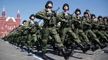 Ilustrasi tentara Rusia