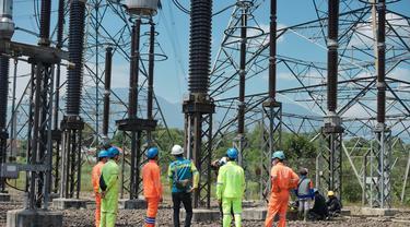 Proyek PLN di Jawa