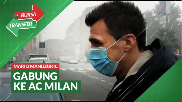Berita Video Jalani Tes Medis, Mario Mandzukic Resmi Bergabung dengan AC Milan