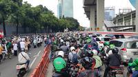 Ada Demo FPI, Jalan Rasuna Said Macet hingga Mampang