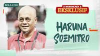 Wawancara Eksklusif - Haruna Soemitro. (Bola.com/Dody Iryawan)