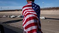 Ilustrasi imigran di Amerika Serikat (AFP)