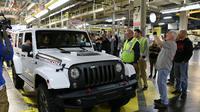 Model terakhir Jeep Wrangler JK yang telah disuntik mati.(Autoguide)