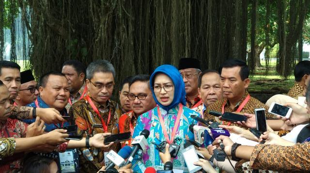 Wali Kota Tangerang Selatan, Airin Rachmi Diany (Liputan6.com/Hanz Jimenez)