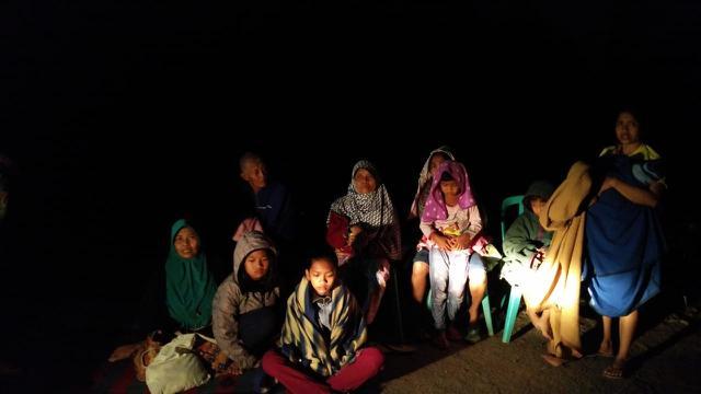 Suasana di Mataram pasca-gempa 7,0 SR di Mataram, Lombok
