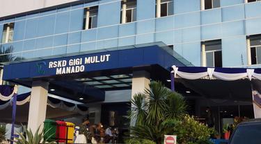 Rumah Sakit Khusus Daerah (RSKD) Gigi dan Mulut di Manado.
