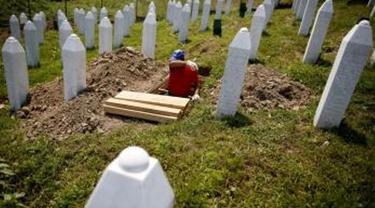 Tugu Peringatan Potocari Srebrenica