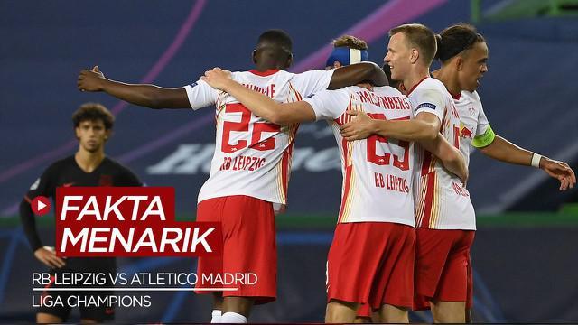 Berita Video Fakta Menarik Usai RB Leipzig Singkirkan Atletico Madrid di Liga Champions
