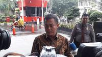 Ketua DPRD DKI Jakarta Prasetyo Edi Marsudi mendatangi Gedung Komisi Pemberantasan Korupsi (KPK). (Liputan6.com/Fachrur Rozie)