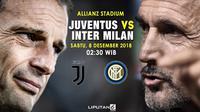 Prediksi Juventus Vs Inter Milan (Liputan6.com/Trie yas)