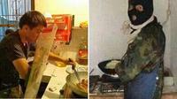 (Foto: Prestigeholics/Facebook) Kelakukan kocka kalau cowok turun ke dapur.