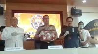 Direktorat Siber Bareskrim Polri menangkap dua peretas laman PN Jakarta Pusat. (Merdeka.com/Nur Habibie)