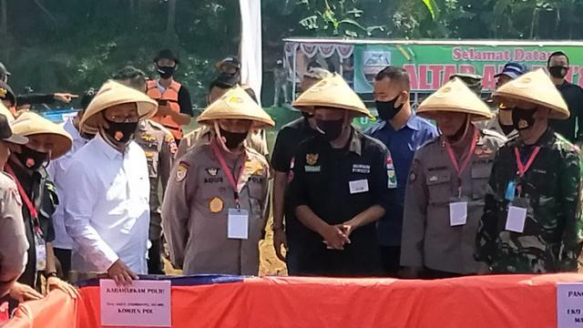 Antisipasi Krisis Pangan, TNI-Polri Manfaatkan Lahan Tidur di Kota Tangerang