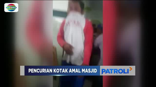 Aksi pencurian pelaku diketahui Aiptu Ni'matul Fuadin, anggota Polsek Gumelar yang rumahnya berada di samping masjid.