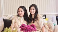 Selanjutnya adalah di acara pengajian Syahnaz belum lama ini. Coba lihat, Gigi dan Nisya kompak memakai baju yang sama. Dua-duanya pun juga kompak memiliki paras yang cantik. (Instagram/nissyaa)