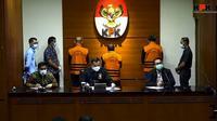 Konferensi pers KPK usai tangkap tangan Gubernur Sulsel Nurdin Abdullah (Liputan6.com/Istimewa)