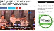 Cek Fakta - Ma'ruf Amin Joget Bersama Jokowi