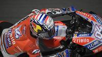 Pembalap Ducati Corse, Andrea Dovizioso akan memulai balapan MotoGP Qatar 2018 di Sirkuit Losail dari urutan kelima (Twitter/Ducati Motor)