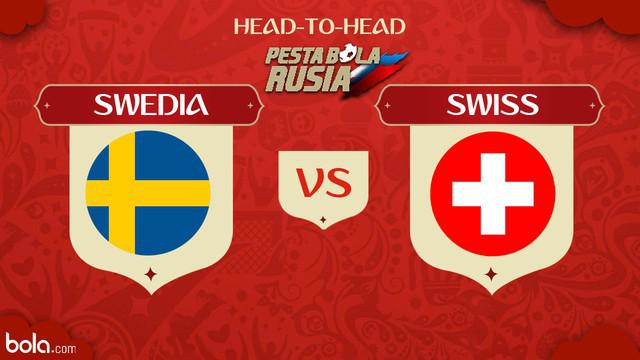 Berita video head-to-head Piala Dunia Rusia 2018: Swedia vs Swiss.