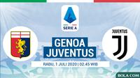 Serie A - Genoa Vs Juventus (Bola.com/Adreanus Titus)