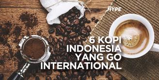 6 Kopi Indonesia yang Go International