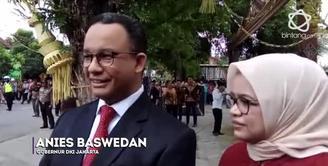 Tanggapan Anies Mengenai Pernikahan Putri Presiden Jokowi.