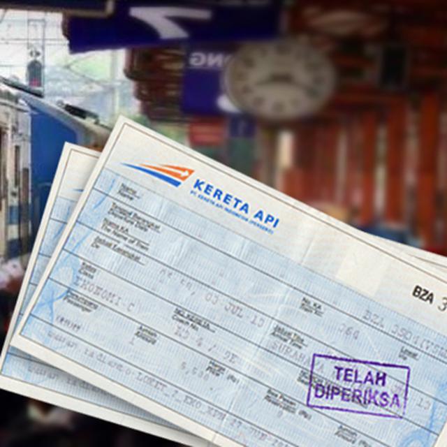 Harga Tiket Kereta Api Ekonomi Berbagai Tujuan Di Indonesia
