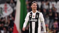 4. Cristiano Ronaldo (Juventus) - 21 gol dan 8 assist (AFP/Marco Bertorello)