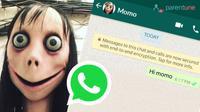 Setelah Kiki Challenge, kini ada tantangan viral di WhatsApp, yakni Momo Challenge yang mengajak orang untuk bunuh diri. (Foto: anews24)