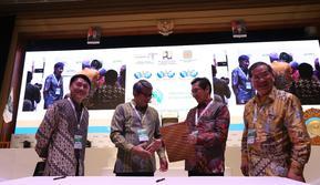 Keppel Land (Indonesia) Pte Ltd, dan PT Metropolitan Land Tbk menandatangani Perjanjian Kerja Sama pengembangan proyek perumahan. Dok
