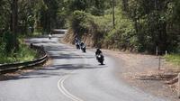 Jalanan menurun adalah jenis jalan yang paling berbahaya (Foto: motobikewriter)