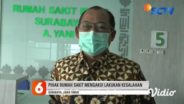 Rekaman video saat petugas berpakaian APD lengkap membawa jenazah pasien Covid-19 untuk dimakamkan di komplek pemakaman Kelurahan Pagesangan, Kota Surabaya. Namun usai menurunkan peti jenazah, petugas tiba-tiba membawa kembali peti jenazah ke dalam m...